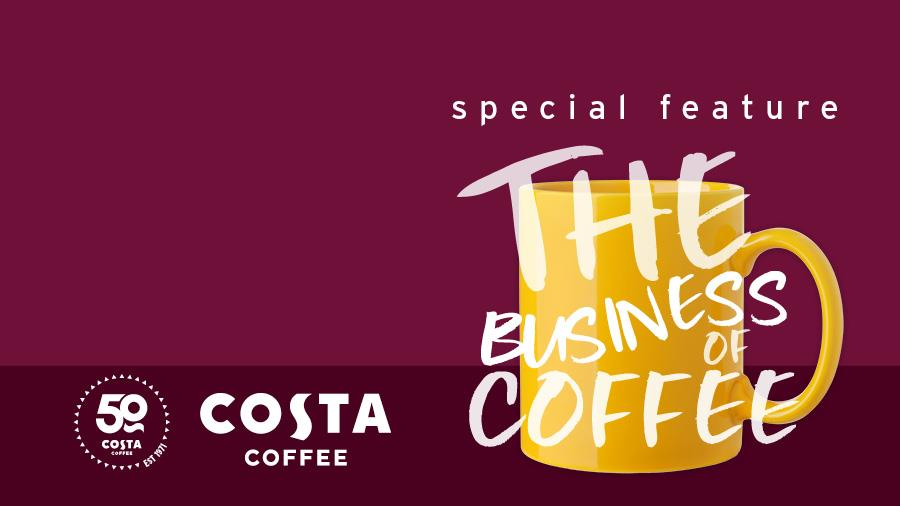 SUCCESS OF THE BUSINESS OF COFFEE - COSTA