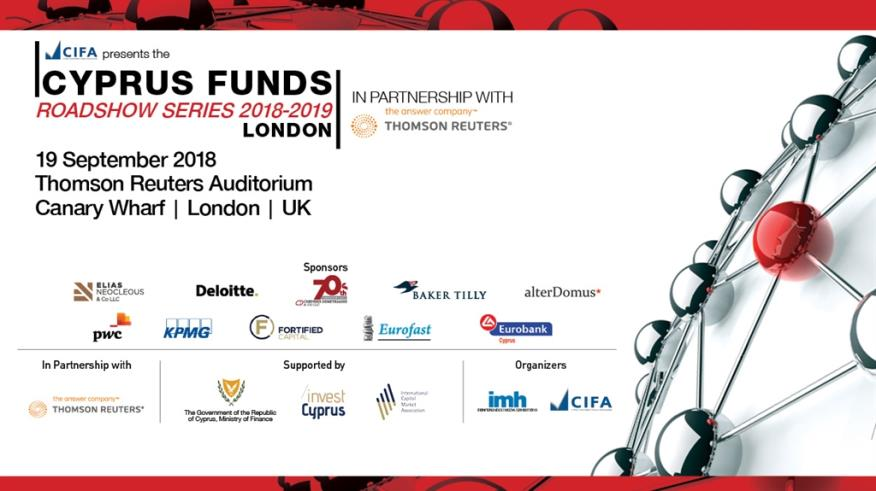 The Cyprus Funds Roadshow Series: Η Κύπρος και οι ευκαιρίες του Brexit
