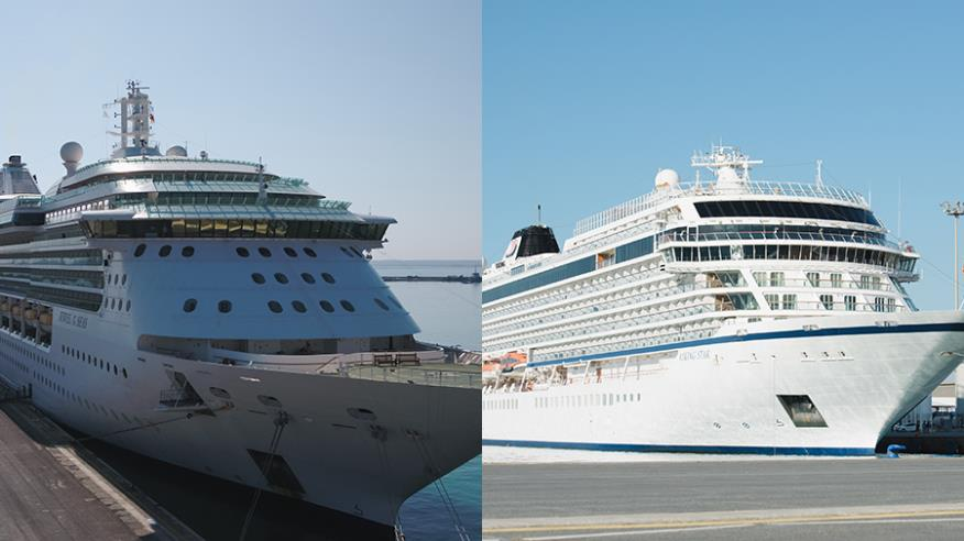 "Η DP World Limassol καλωσόρισε τα ""Jewel of the Seas"" και ""Viking Star"""